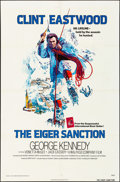 """Movie Posters:Action, The Eiger Sanction & Other Lot (Universal, 1975). Folded, Overall: Fine/Very Fine. One Sheets (2) (27"""" X 41""""). John Alvin Ar... (Total: 2 Items)"""