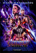 """Movie Posters:Action, Avengers: Endgame (Walt Disney Studios, 2019). Rolled, Very Fine+. International One Sheet (27"""" X 40"""") DS, Advance. Action...."""
