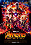 """Movie Posters:Action, Avengers: Infinity War (Walt Disney Pictures, 2018). Rolled, Very Fine/Near Mint. International One Sheet (27"""" X 40"""") DS, Ad..."""