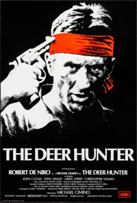 "The Deer Hunter (EMI, 1978). Rolled, Very Fine+. British One Sheet (27"" X 40""). Academy Award Winners"