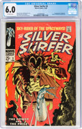 Silver Age (1956-1969):Superhero, The Silver Surfer #3 (Marvel, 1968) CGC FN 6.0 Off-white pages....