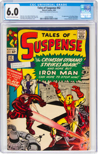 Tales of Suspense #52 (Marvel, 1964) CGC FN 6.0 Cream to off-white pages