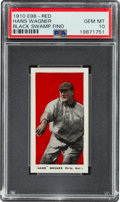 "Baseball Cards:Singles (Pre-1930), 1910 E98 ""Set of 30"" Honus Wagner (Black Swamp Find) PSA Gem MT 10 - The Finest Example Known! ..."