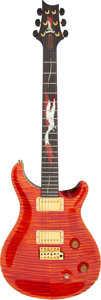 Musical Instruments:Electric Guitars, 2007 Paul Reed Smith (PRS) Private Stock Phoenix Orange Solid Body Electric Guitar, Serial # 7-121228....