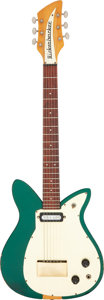 Musical Instruments:Electric Guitars, 1956 Rickenbacker Combo 400 Green Solid Body Electric Guitar, Serial # 4C 6215 SD.. ...