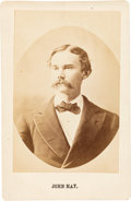 Photography:Cabinet Photos, John Hay: Lincoln's Personal Secretary Cabinet Card.. ...
