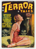 Pulps:Horror, Terror Tales - February 1935 (Popular) Condition: FN-....