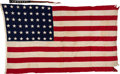Military & Patriotic:WWII, USS San Francisco (CA-38) Ensign and Commission Pennant. . ... (Total: 2 )