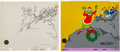 Animation Art:Production Drawing, Dr. Seuss' How the Grinch Stole Christmas The Grinch Animation Drawing With One of One Cel (MGM, 2002). ... (Total: 2 Items)