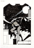 Original Comic Art:Illustrations, Keith Giffen- Batman Speciality Illustration Original Art (undated)....