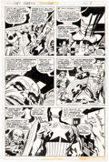 Original Comic Art:Panel Pages, Jack Kirby and Frank Giacoia Captain America #203 Story Page 3 Original Art (Marvel, 1976)....