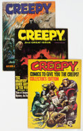 Magazines:Horror, Creepy Group of 39 (Warren, 1964-81) Condition: Average VG.... (Total: 39 Comic Books)