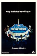 "Movie Posters:Science Fiction, Star Wars (20th Century Fox, 1978). Very Fine on Linen. One Sheet (27"" X 41"") Anniversary Birthday Cake Style.. ..."