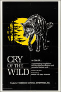"""Movie Posters:Documentary, Cry of the Wild & Other Lot (American National Enterprises, 1973). Folded, Very Fine-. One Sheets (3) (27"""" X 41"""") & Photos (... (Total: 7 Items)"""