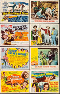 """Movie Posters:Musical, Texas Carnival & Other Lot (MGM, 1951). Very Fine-. Title Lobby Cards (5), Lobby Cards (14) (11"""" X 14""""), & Insert (14"""" X 36""""... (Total: 20 Items)"""