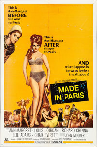 "Made in Paris & Other Lot (MGM, 1966). Folded, Fine/Very Fine. One Sheets (2) (27"" X 41""). Comedy. ... (To..."
