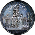 "World Lots, World Lots: ""Jernegan's Lottery"" silver Medal 1736 MS63 NGC,..."
