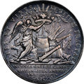 """World Lots, World Lots: Anne silver """"Battle of Vigo Bay"""" Medal 1702-Dated XF45 NGC,..."""