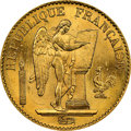 France: Republic gold 20 Francs 1877-A MS65+ NGC