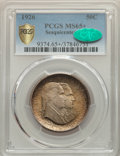 Commemorative Silver, 1926 50C Sesquicentennial MS65+ PCGS. CAC....