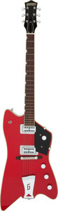 Musical Instruments:Electric Guitars, 2005 Gretsch Billy Bo G6199 Red Solid Body Electric Guitar, Serial #JT05096088.. ...