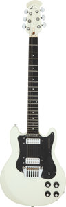 Musical Instruments:Electric Guitars, Circa 1978 Ovation Preacher White Solid Body Electric Guitar, Serial #E 17310.. ...