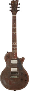 Musical Instruments:Electric Guitars, 2003 Trussart Steel DeVille Rusted Holey Top Electric Guitar, Serial #03 320.. ...