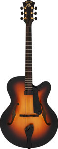 Musical Instruments:Electric Guitars, 2004 Martin CF-1 Sunburst Archtop Electric Guitar, Serial #1019059.. ...