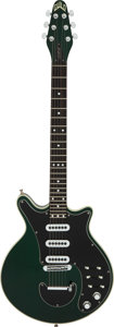 Musical Instruments:Electric Guitars, Circa 1994 Guild Brian May Signature Green Solid Body Electric Guitar, Serial # BM 20365.. ...