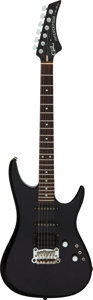 Musical Instruments:Electric Guitars, 1988 G & L Interceptor Black Solid Body Electric Guitar, Serial #G024915.. ...