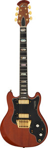 Musical Instruments:Electric Guitars, Circa 1978 Ovation Preacher Deluxe Natural Solid Body Electric Guitar, Serial #E 12450.. ...