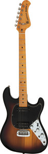Musical Instruments:Electric Guitars, 1978 Music Man Sabre 1 Sunburst Solid Body Electric Guitar, Serial #A004188.. ...