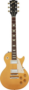 Musical Instruments:Electric Guitars, Circa 1974 Gibson Les Paul Gold-Top Solid Body Electric Guitar, Serial # 819683.. ...