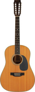 Musical Instruments:Acoustic Guitars, 1968 Martin D 12-35 Natural 12 String Acoustic Guitar, Serial #231650.. ...