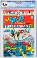 Bronze Age (1970-1979):Superhero, All Star Comics #58 (DC, 1976) CGC NM+ 9.6 White pages....