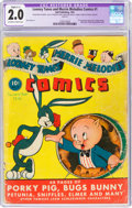 Golden Age (1938-1955):Cartoon Character, Looney Tunes and Merrie Melodies Comics #1 (Dell, 1941) CGC Apparent GD 2.0 Slight (C-1) Off-white to white pages....