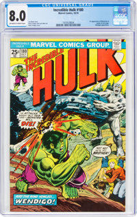 The Incredible Hulk #180 (Marvel, 1974) CGC VF 8.0 Off-white to white pages