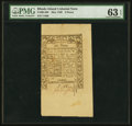 Colonial Notes:Rhode Island, Rhode Island May 1786 6d PMG Choice Uncirculated 63 EPQ.. ...