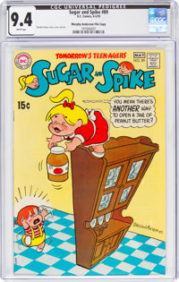 Sugar and Spike #89 Murphy Anderson File Copy (DC, 1970) CGC NM 9.4 White pages
