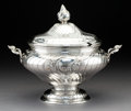 Silver & Vertu:Hollowware, An M. H. Wilkens & Söhne Silver Covered Tureen, Hemelingen, Germany, 1894. Marks: (screw press-800-crescent-crown), 98...