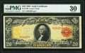 Large Size:Gold Certificates, Fr. 1180 $20 1905 Gold Certificate PMG Very Fine 30.. ...