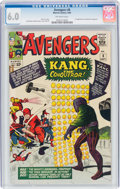 Silver Age (1956-1969):Superhero, The Avengers #8 (Marvel, 1964) CGC FN 6.0 Off-white pages....