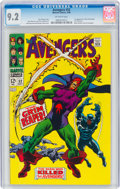 Silver Age (1956-1969):Superhero, The Avengers #52 (Marvel, 1968) CGC NM- 9.2 Off-white pages....