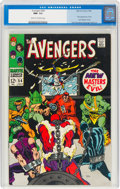 Silver Age (1956-1969):Superhero, The Avengers #54 (Marvel, 1968) CGC NM- 9.2 Cream to off-white pages....