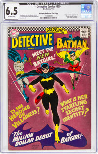 Detective Comics #359 Murphy Anderson File Copy (DC, 1967) CGC FN+ 6.5 Off-white pages
