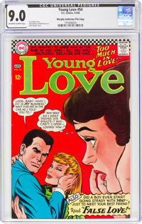 Young Love #54 Murphy Anderson File Copy (DC, 1966) CGC VF/NM 9.0 Off-white to white pages