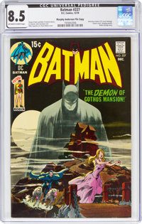 Batman #227 Murphy Anderson File Copy (DC, 1970) CGC VF+ 8.5 Off-white to white pages