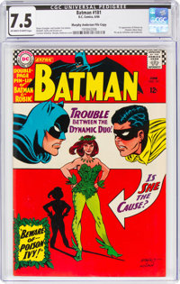 Batman #181 Murphy Anderson File Copy (DC, 1966) CGC VF- 7.5 Off-white to white pages