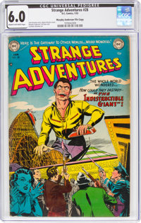 Strange Adventures #28 Murphy Anderson File Copy (DC, 1953) CGC FN 6.0 Cream to off-white pages