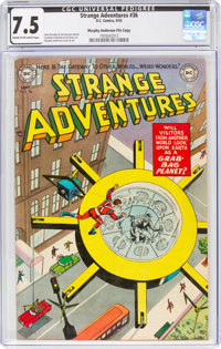 Strange Adventures #36 Murphy Anderson File Copy (DC, 1953) CGC VF- 7.5 Cream to off-white pages